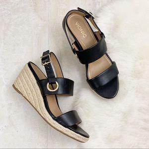 Vionic Vero Espadrille Wedge Sandals